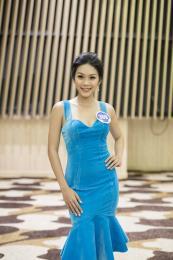 Thanh Tú. Con gái diễn viên Kiều Trinh bất ngờ thi Hoa hậu Đại dương
