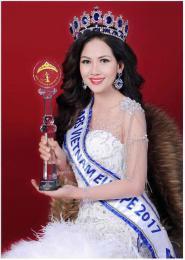 Diễn Viên Hồng Thy chia sẻ cảm xúc về giây phút đăng quang Hoa hậu
